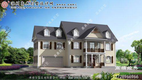 拱墅区农村实用小别墅设计图
