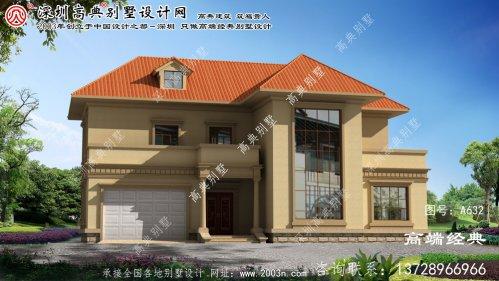 淮上区二层复式别墅设计图片大全
