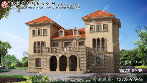 望江县农村建筑设计效果图