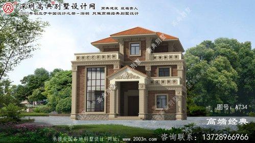 金寨县简单农村房屋设计图