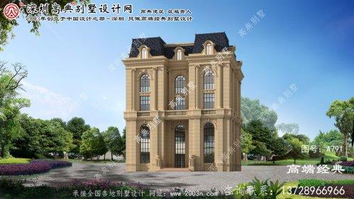 仙游县私人小别墅设计图