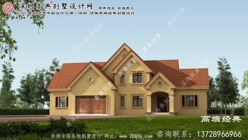 秀屿区欧式一层别墅设计图