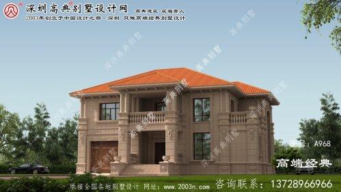 历下区农村两层房屋设计图