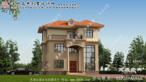 滦平三层别墅设计图