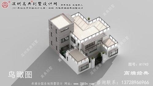 平陆县二层经济型别墅设计图