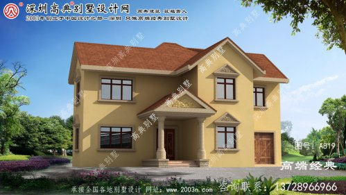 安阳市普通别墅设计图
