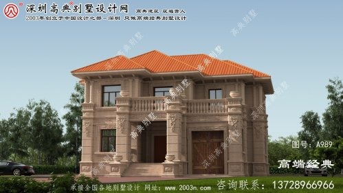 张湾区大型别墅设计图