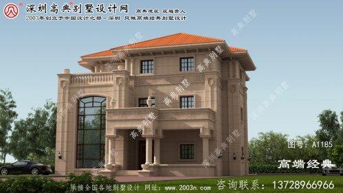 北塔区别墅设计图效果图