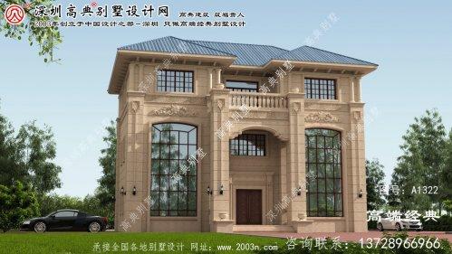 珠海市别墅房屋设计图