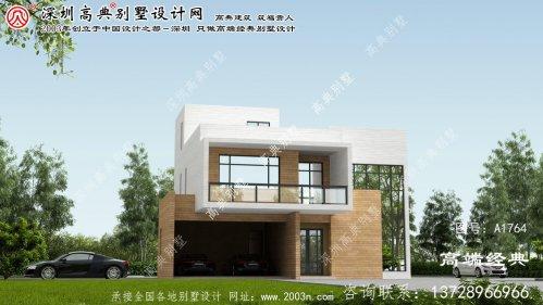 象州县复式小别墅设计图