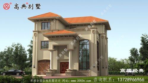 塔城地区农村三层自建房设计
