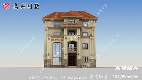 乡村四层别墅设计图