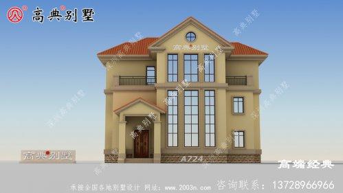 三层别墅设计效果图大全
