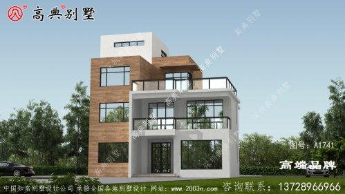 农村四层自建房设计图
