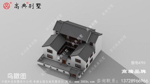 颜值好布局实用的农村农村自建房图片