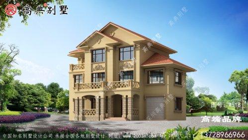 农村三层房屋设计图大全这款别墅设计非常新颖