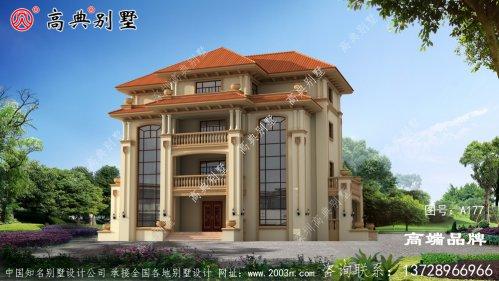 四层农村住宅平面设计图大气典雅