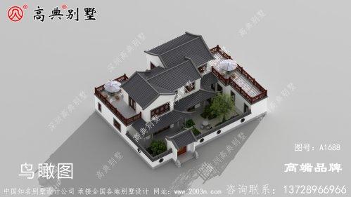 农村房子设计图散发出古朴浓厚的生活气息