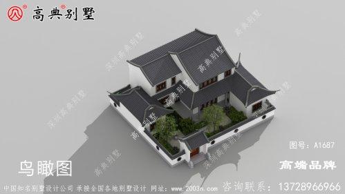 中式庭院设计图片造型还是相当的可以