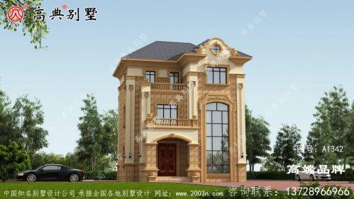 乡村3层楼房设计图住得舒服家庭也幸福