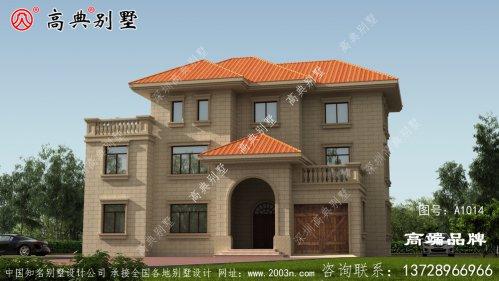 农村房子设计图回老家盖别墅老有所依。