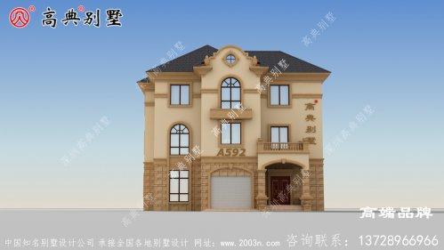 小户型农村建房设计整体气质清新,温馨十足