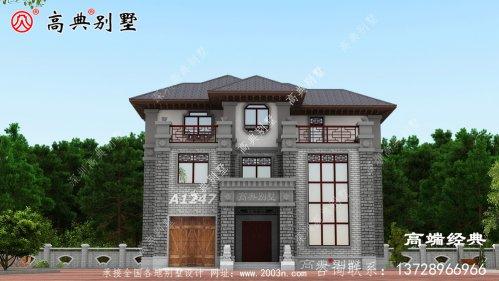梧州市永不过时的三层半自建房外观图,心动不