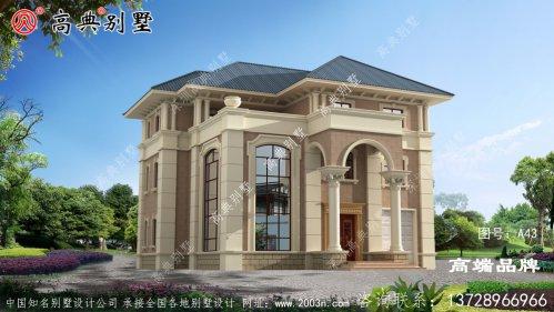 房子设计图纸大全带飘窗造型很立体