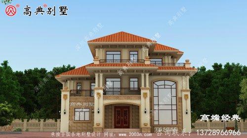 农村新房家装设计图结实抗震造价低