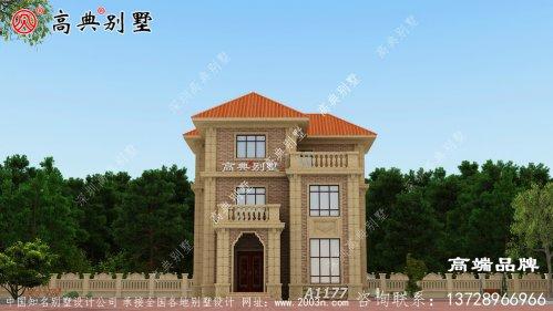小户型别墅设计图,能不能看一眼就会爱上