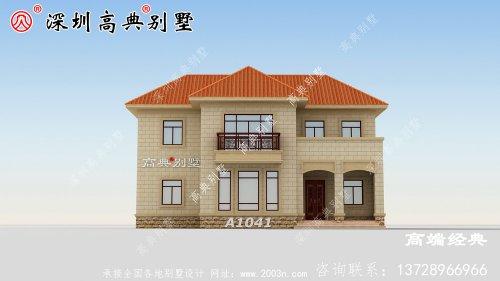 复式别墅设计图,带旋转楼梯设计,在老家盖栋