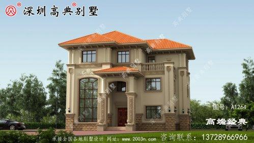 三层别墅设计图,效果图刚设计出来,就受到广大建房者的追捧。