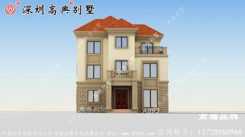 农村三层别墅,家是避风港,需要用心来建造!