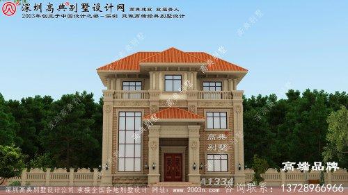 三层 住宅设计图 ,很有气派 ,回家 盖上一张