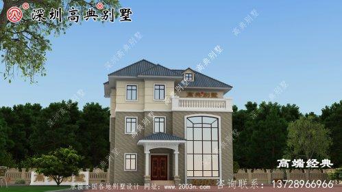 精致乡村建房设计图分享,看完你还想在城里买