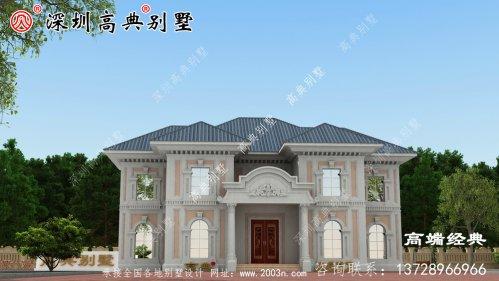 乡村二层小楼设计图,现代乡村必须建造,您还不快进来看看。