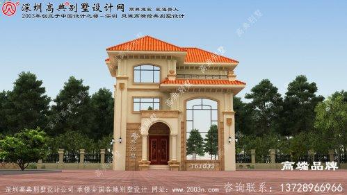 别墅造价只要35万,外观大气,布局实用,建出来