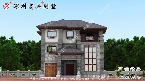 农村自建三层住宅设计图,总有一个你喜欢。